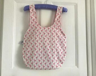 Fabric bucket bag