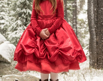 Girls Christmas Dress - 5T