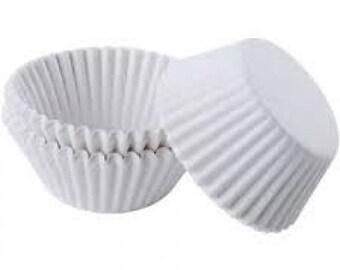 White Cupcake Liners 1000pk
