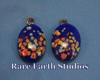 Vintage Whimsical Blue Beads 60516107