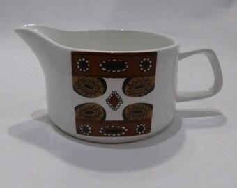 "Meakin ""Maori"" gravy / sauce boat – original from the 1960's"