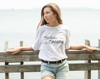 Tribal Change Logo Tee