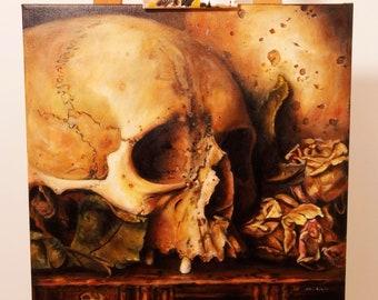 "Vanitas painting ""Kobra"""