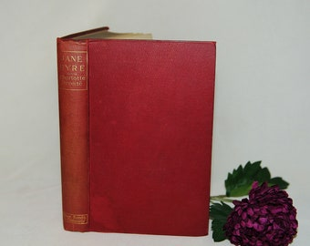 Jane Eyre by Charlotte Bronte / 1896 Bliss, Sands & Co, London / Antique Copy In Good Condition