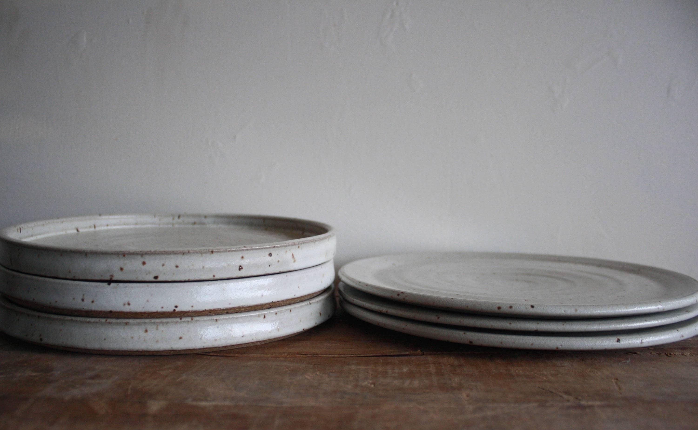 Dinner Plate - Dinnerware - Handmade - Dish Set - Ceramics u0026 Pottery - KJ Pottery & Dinner Plate - Dinnerware - Handmade - Dish Set - Ceramics u0026 Pottery ...