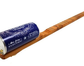 """One-String Electric Canjo """"The Edison"""" by the American Canjo Company"""