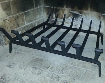 fire place grate hand forged by blacksmith