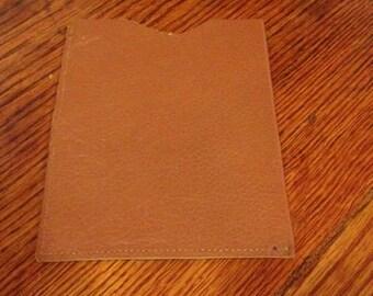 RFID Protective Leather Passport Sleeve