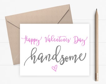 Valentine Card for boyfriend for husband for him Romantic Valentines Day Card for him Love Card for boyfriend or husband