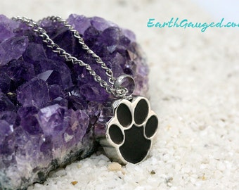 Paw Print Vial/Urn: Memorial, tribute, vial, urn, sentimental, memory, love, fur, whiskers, pet ashes / cremains