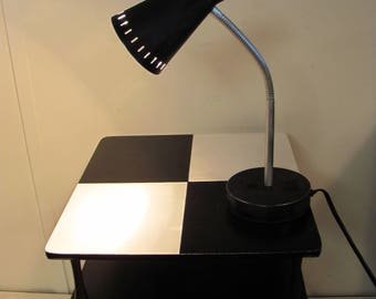 Cool Refinished Goosneck Table Lamp