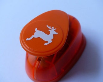 Motivstanzer punch reindeer deer Locher