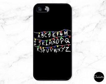 Stranger Things iPhone & Samsung Case - Minimal Lights
