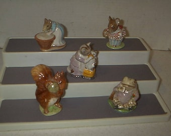 Collection of Beatrix Potter Collectable Figures #2