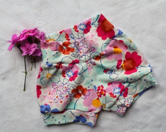 Girls Shorts | Baby Girls Shorts | Newborn Shorts | Floral Shorts | Summer Shorts | Pretty Girls Shorts | Girls Shorties | New Baby Gift