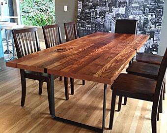 Reclaimed Wood Table Handmade In Portland, OR
