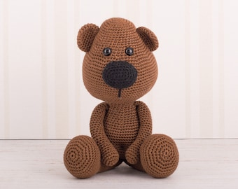 Amigurumi Barley Bear - US terms