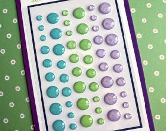 Your Next Stamp-Enchanted Garden Sparkly Gumdrops