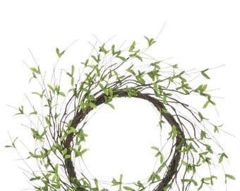 """Twig Foliage Wreath 22"""""""