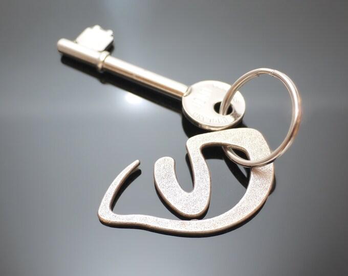 Cat Eye Key Chain Keyring