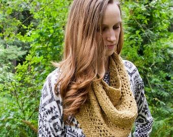 Crochet cowl pattern, crochet, cowl, pattern, cowl pattern, one skein, PDF pattern,