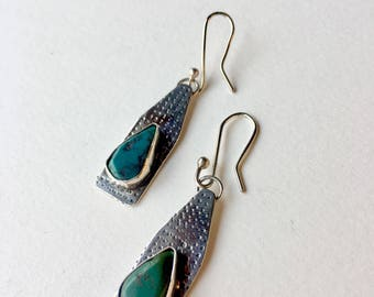 Sterling Silver and Turquoise dangles