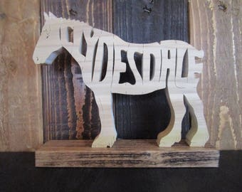 Clydesdale shelf sitter
