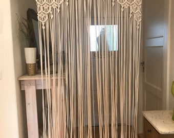 Boho Gypsy Hippie Garland Curtain Room Divider Dorm Shower