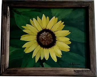 Giant Sunflower with frame