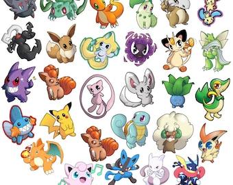 Pokemon Art Magnets