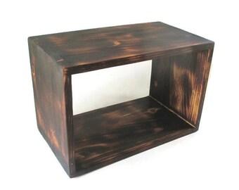 Rustic Decor - Floating Nightstand - Shelf - Custom Furniture