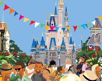 Disneyland Disneyworld Happiest Place on Earth