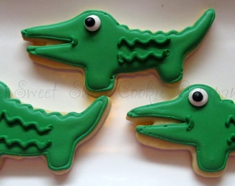 Alligator Cookies 2 dozen