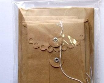 Maya Road Kraft Envelope - Rectangle