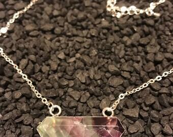 Rainbow Fluorite Semi-precious Stone