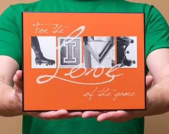 """8x10 mounted print 