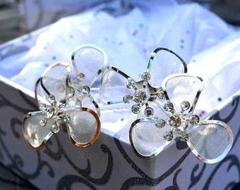 Wedding Accessory, Bridal hair pins, flower hair pins, wedding hair pins