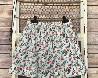 Girl's Gathered Skirt