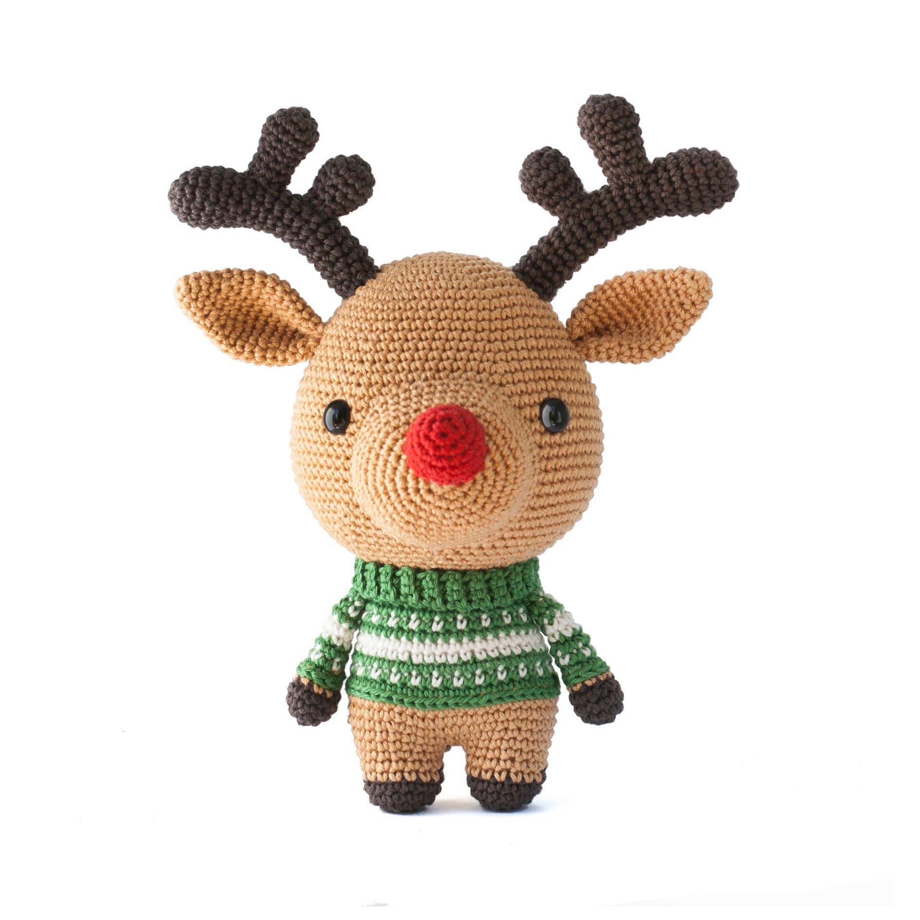 Rudolph the reindeer crochet pattern pdf amigurumi zoom bankloansurffo Choice Image