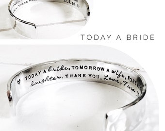 Mother in Law Gift | Today a Bride | Mother of the Groom Gift | Mother of the Bride Gift|  Jewelry By Glam and Co (W218)