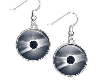 Solar Eclipse Earrings - Total Eclipse Jewellery - Total Eclipse Gifts
