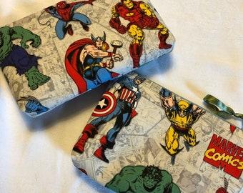Marvel Comics Zipper Purse