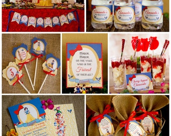 Snow White Printable Collection
