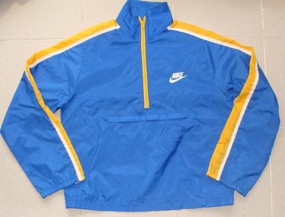 Nike Windbreak Classic Blue & Yellow 80s SOyaQD