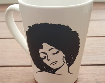 African American Woman Coffee Mug