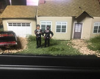 Pulp Fiction Diorama