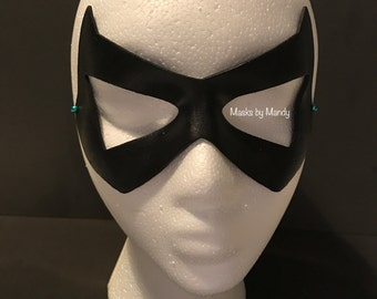 Young Justice Robin inspired superhero mask
