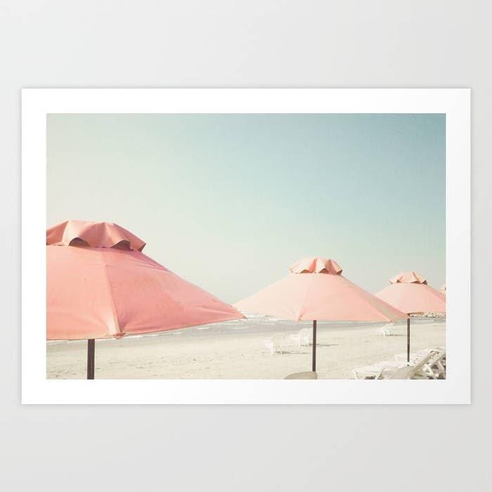 Strand-Fotografie extra große Wandkunst Strand Druck