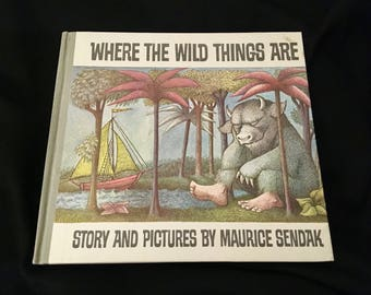 The Written Word: Where the Wild Things Are by Maurice Sendak with INSCRIPTION AND SIGNATURE