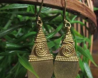 Indian tribal earrings